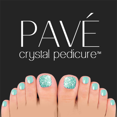 Pavé-Crystal-Pedicure-Aqua