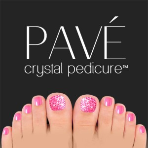 Pavé-Crystal-Pedicure-Rose