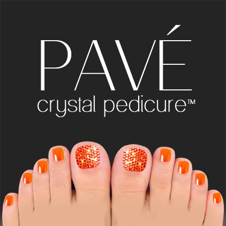 Pavé-Crystal-Pedicure-Sun